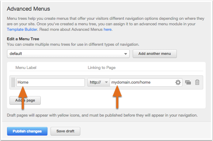 how to add external landing page in hubspot