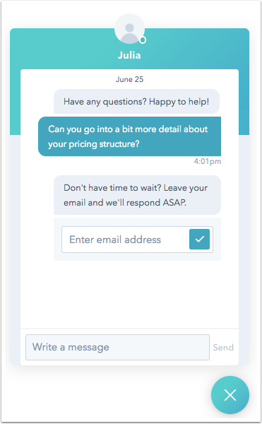 email-capture-on-live-widget