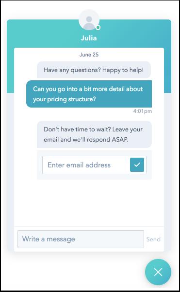 email-capture-on-live-widget