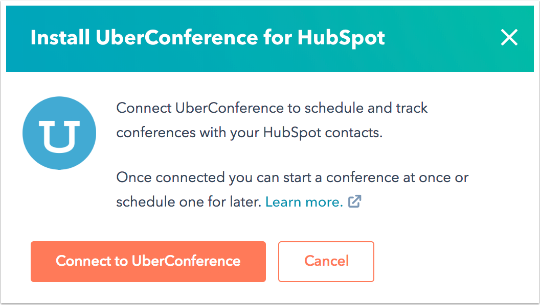 install-uberconference-for-hubspot