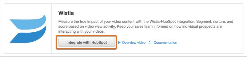 Integrar con HubSpot