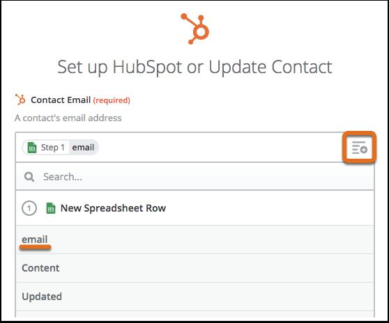 Configurar o actualizar contacto