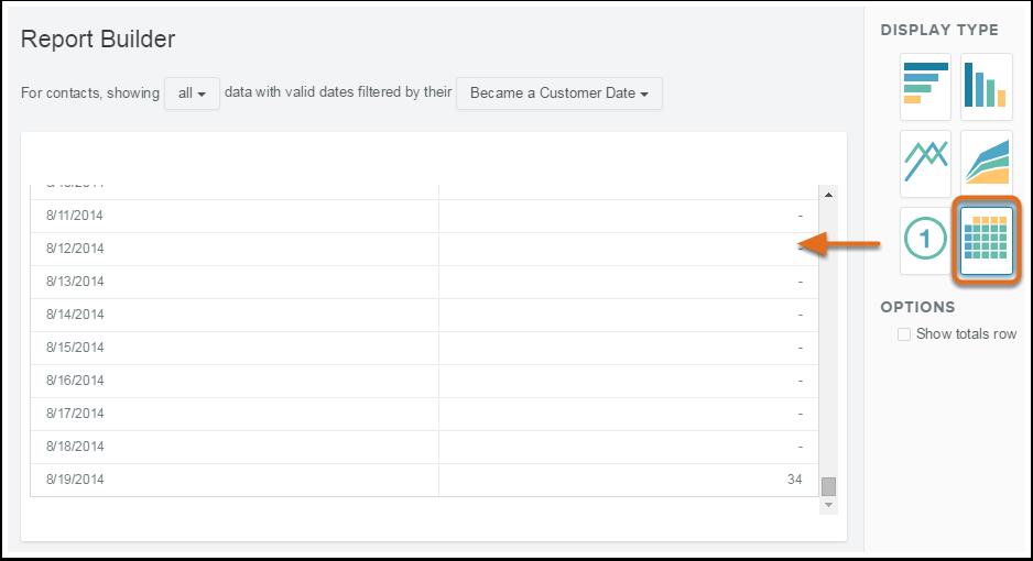 Berichtdesigner – Erstellen eines Berichts mit Tabellen-Visualisierung