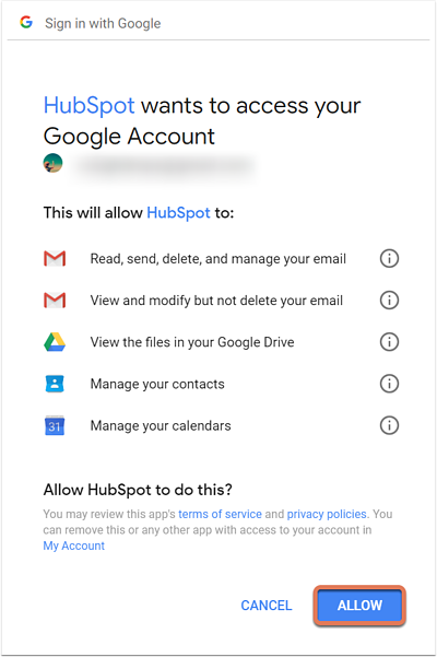 Connect your inbox to HubSpot