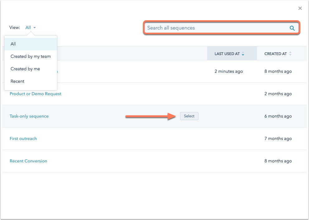 HubSpot-Hilfeartikel Screenshot