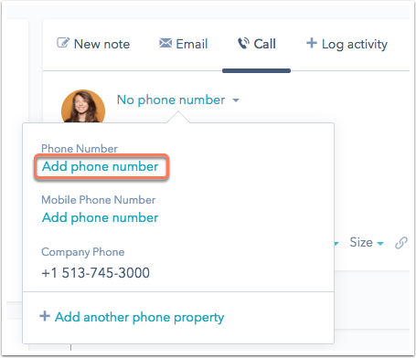 how to call no number