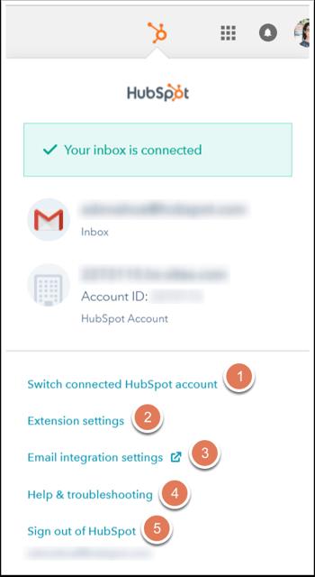 Customize your HubSpot Sales Chrome extension default