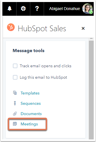 Use sales tools with the HubSpot Sales Office 365 add-in