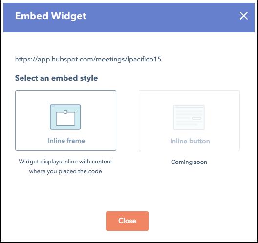Incrustar widget