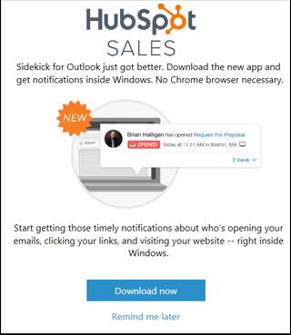 HubSpot Sales – Download von HubSpot Sales für Windows