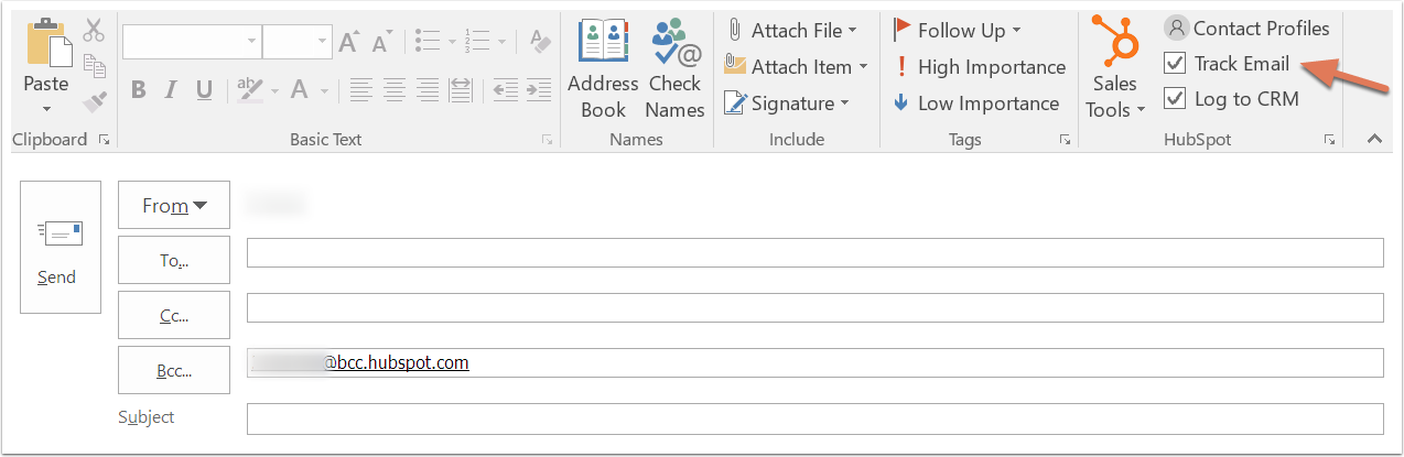 HubSpot CRM – Kontaktdatenbank – E-Mail über Outlook
