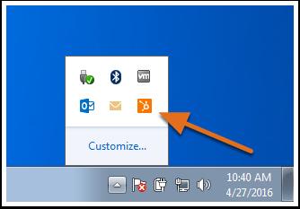 Extension HubSpot Sales para Windows