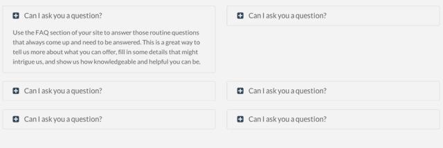 Módulo de preguntas más frecuentes