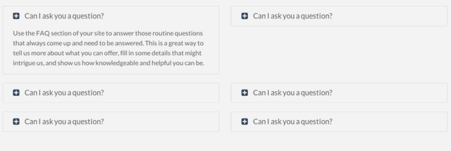 FAQ Module