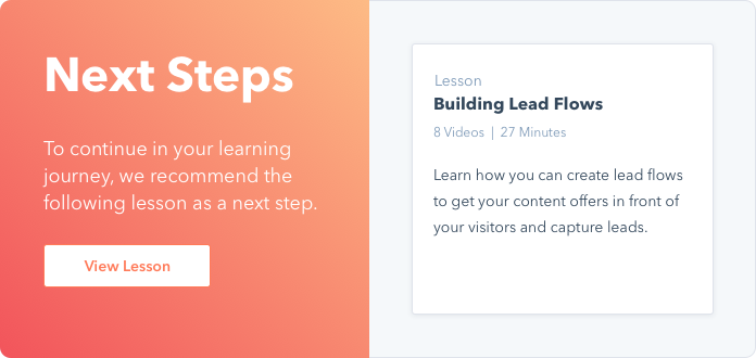 Building Lead Flows