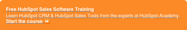Free HubSpot Sales Software Training Learn HubSpot CRM & HubSpot Sales Tools from the experts at HubSpot Academy. Start the course