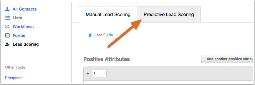 Automatisches Lead-Scoring in HubSpot Marketing