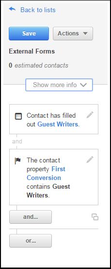 form conversion