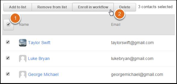 Im Workflow registrieren