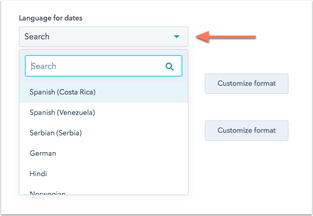 Captura de pantalla artículo de ayuda de HubSpot