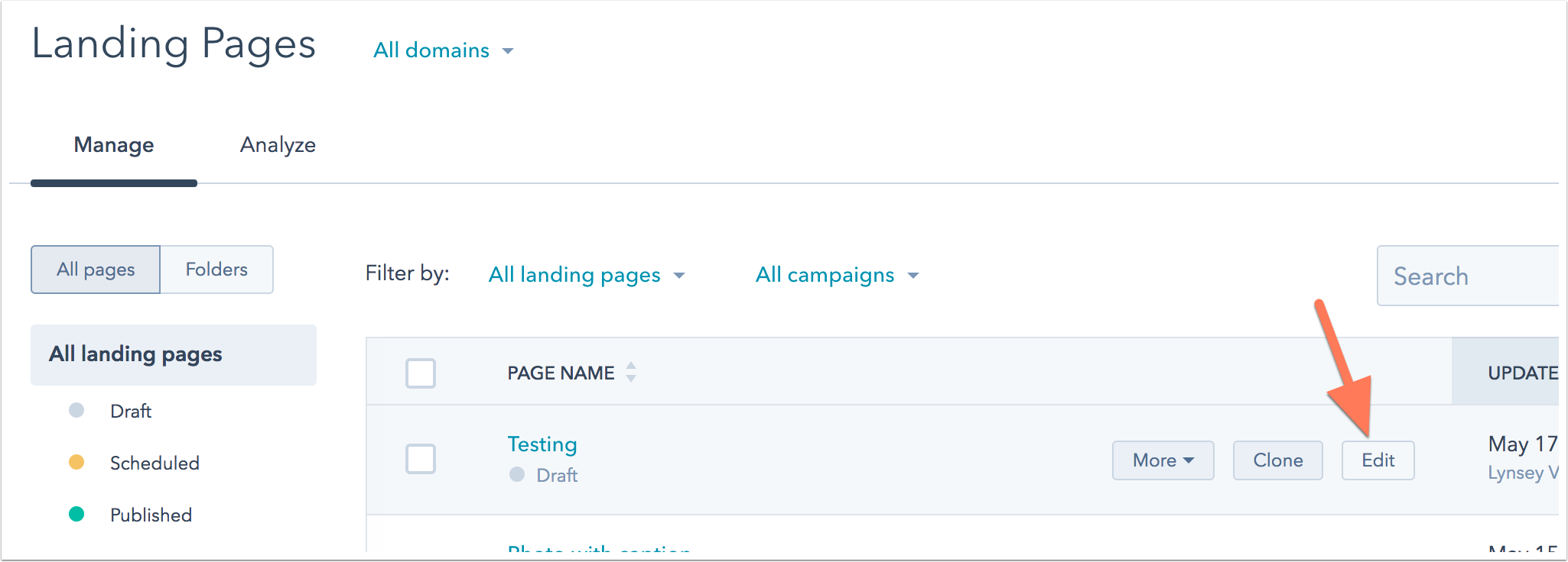 How do i change the color of a form submit button for forms on hubspot landing pages falaconquin
